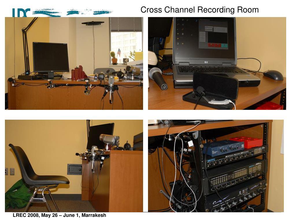 Cross Channel Recording Room