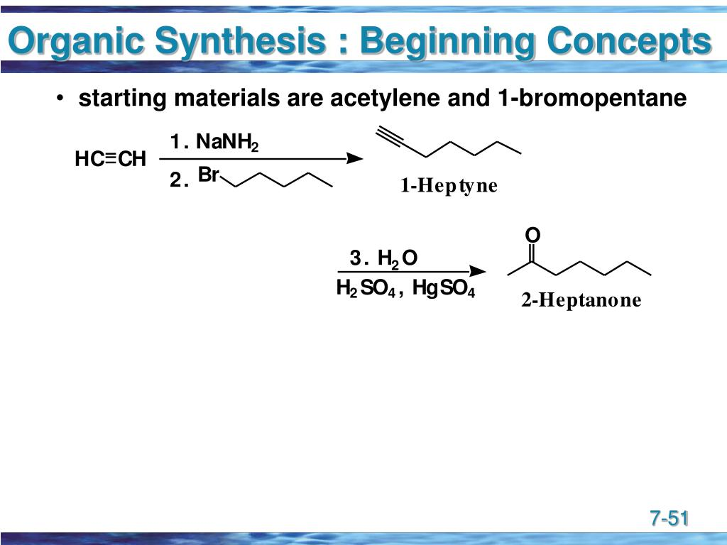 Organic Synthesis : Beginning Concepts