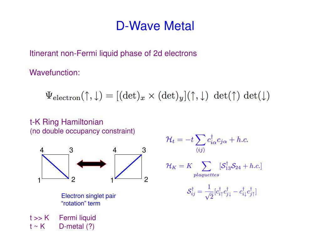 D-Wave Metal