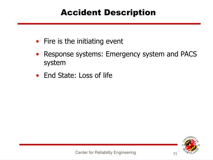 Accident Description