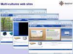 multi cultures web sites