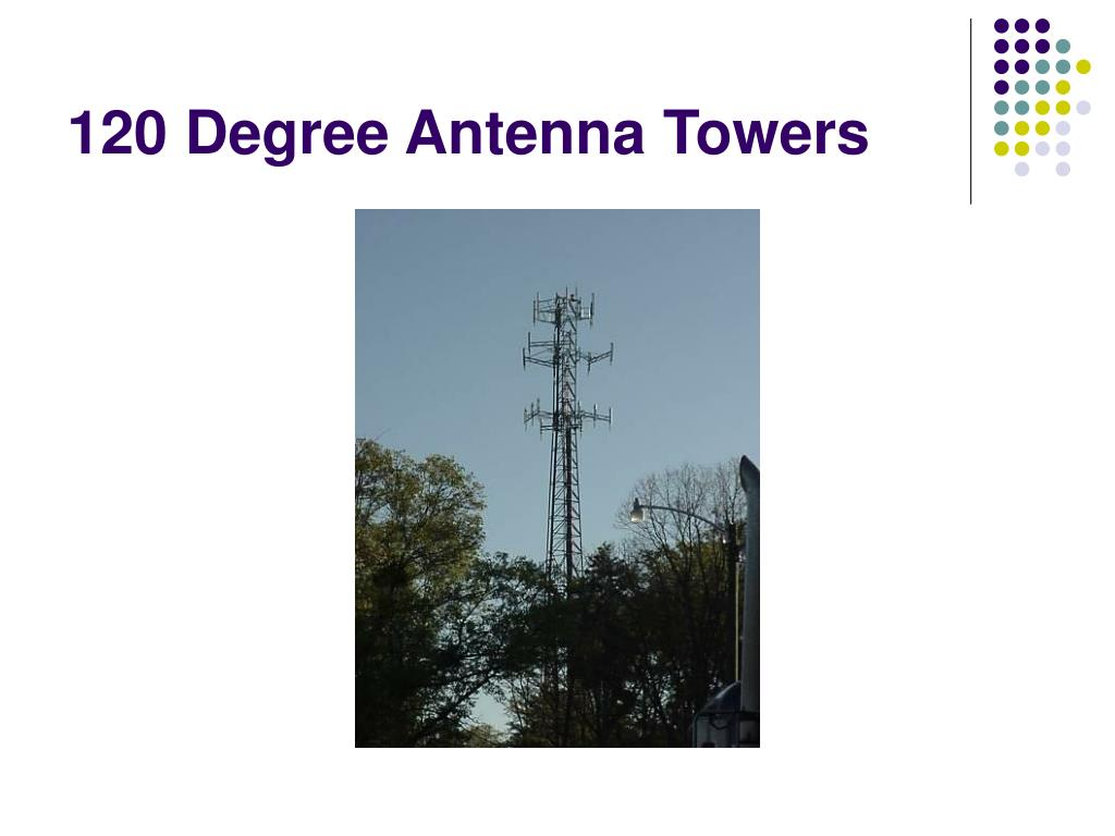 120 Degree Antenna Towers
