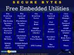free embedded utilities