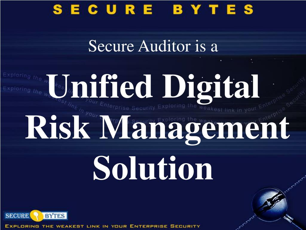 Secure Auditor is a