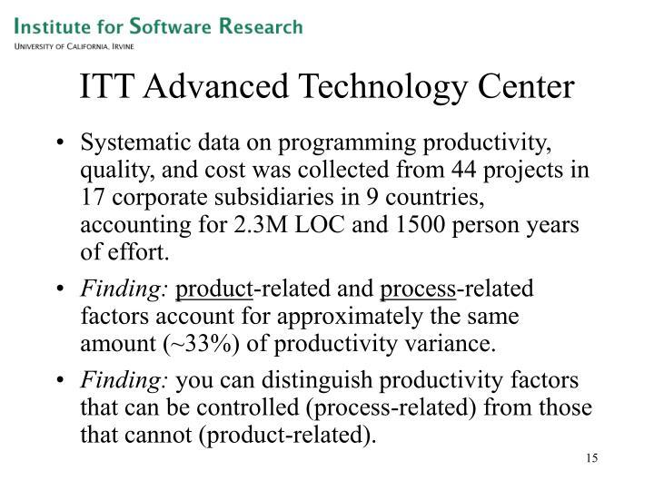 ITT Advanced Technology Center