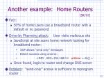 another example home routers