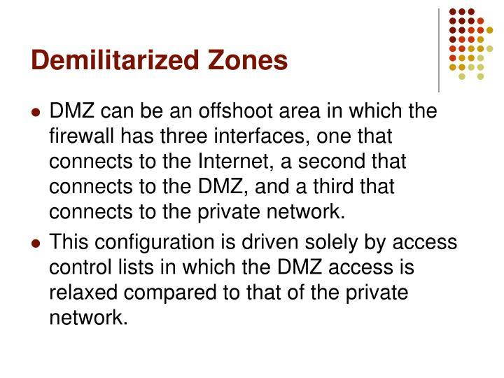 Demilitarized Zones