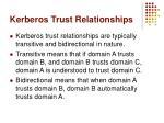 kerberos trust relationships1