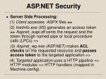 asp net security