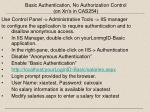 basic authentication no authorization control on xn s in cas254