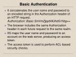 basic authentication1