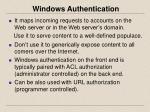windows authentication1