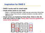 inspiration for raid 5