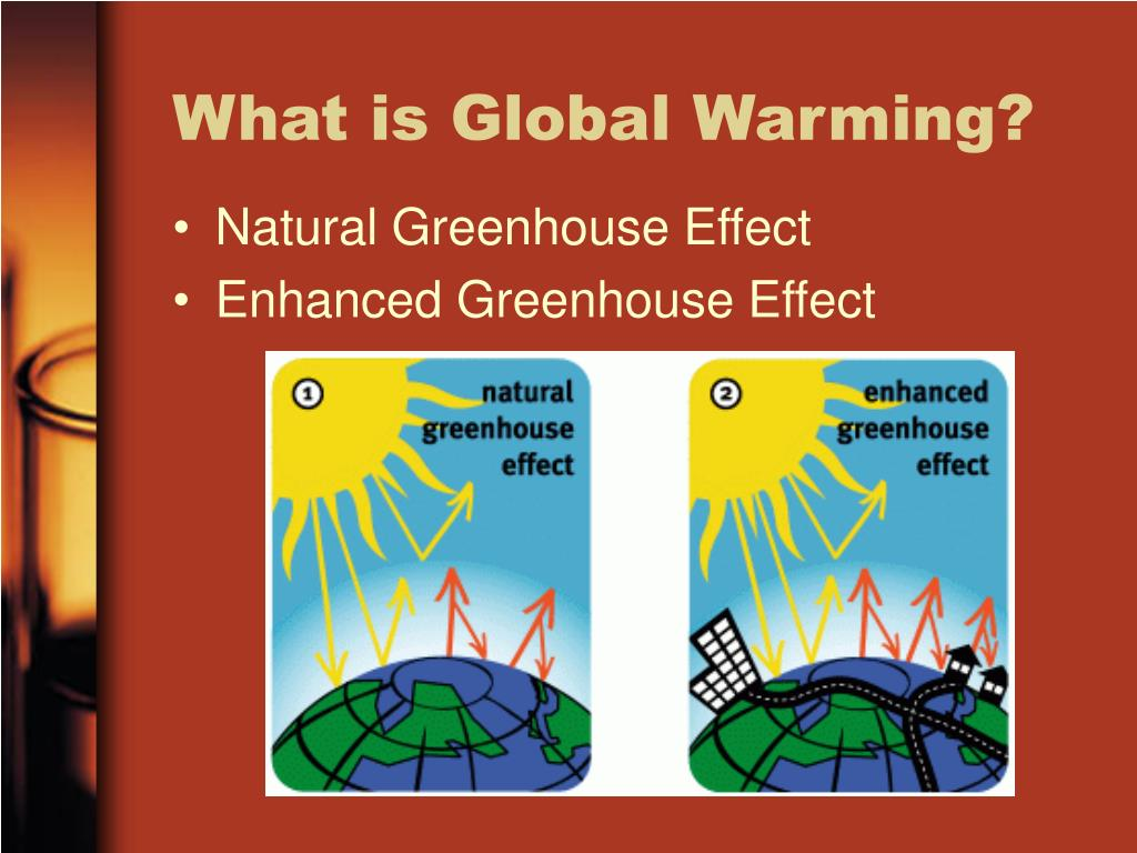 what is global warming Global warming is an increase in the average temperature of the earth's surface over time this rise results from the greenhouse effect, in which gases such as carbon dioxide trap heat within the earth's atmosphere.