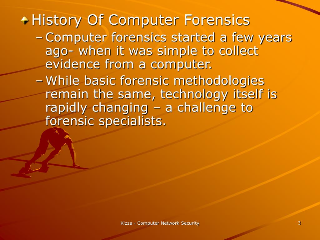 History Of Computer Forensics