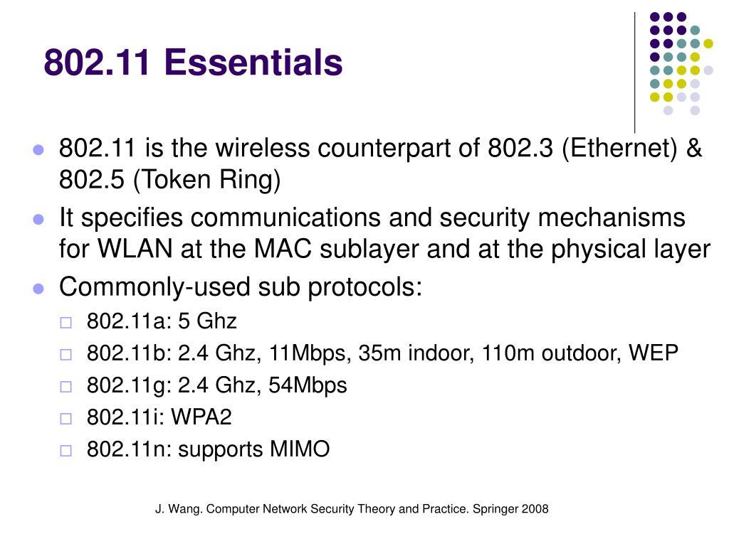 802.11 Essentials