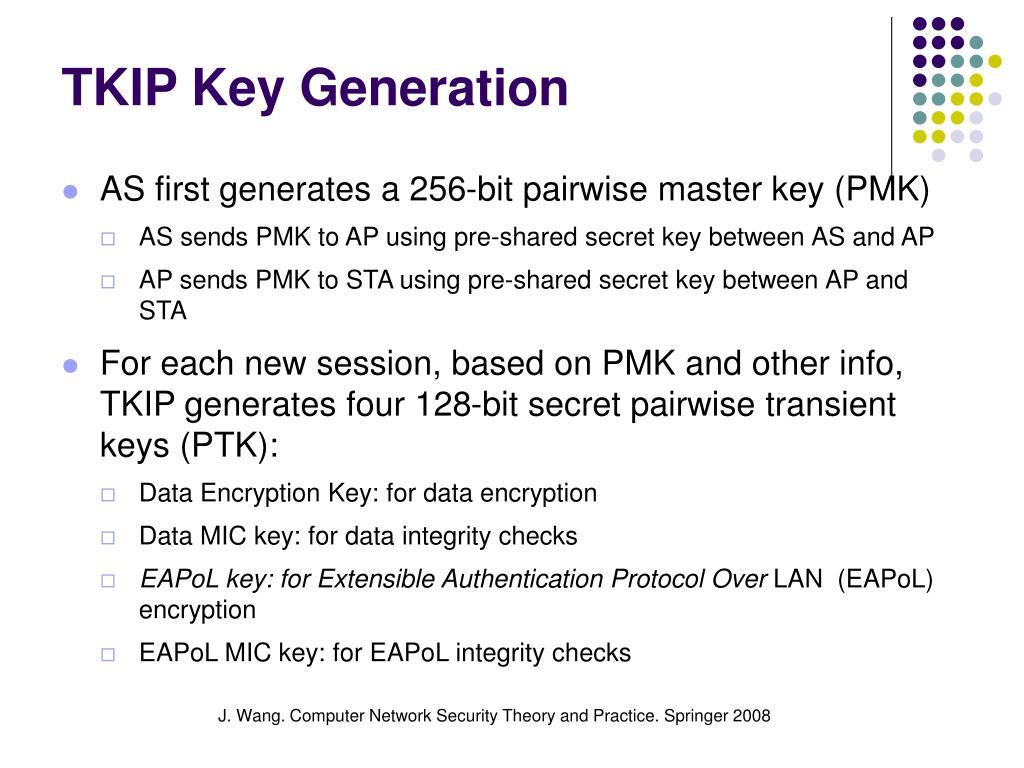 TKIP Key Generation