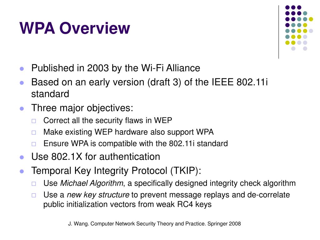 WPA Overview