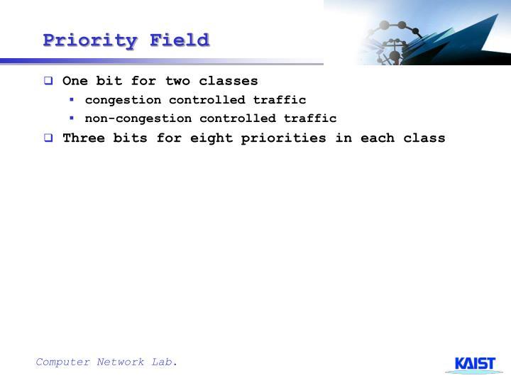 Priority Field