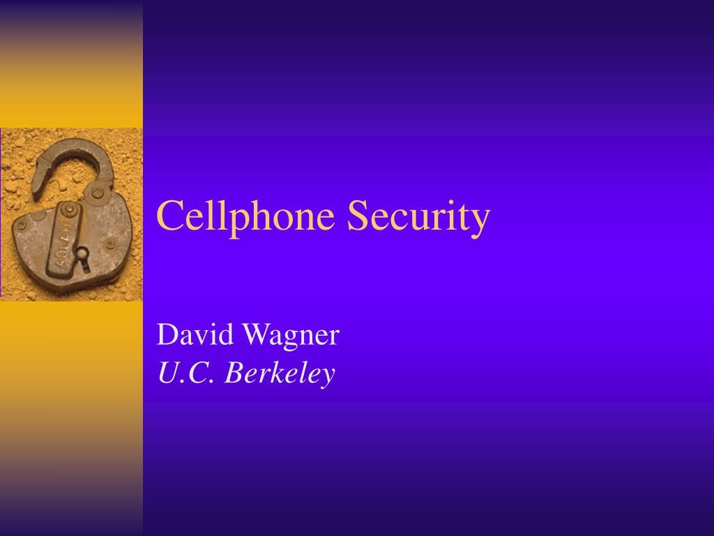 cellphone security l.