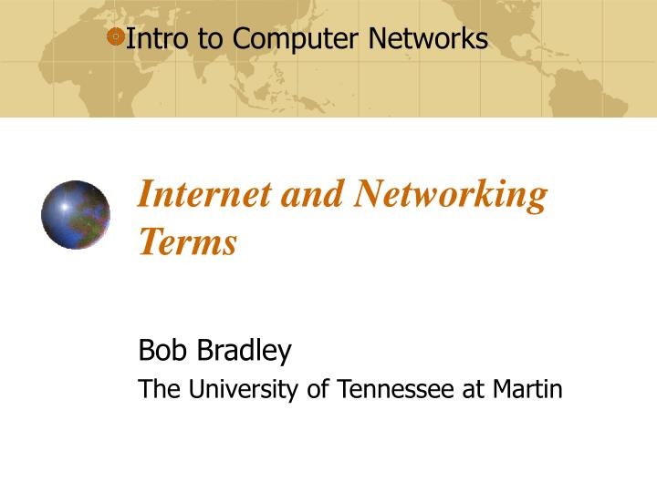 internet and networking terms n.
