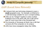 lan local area network