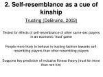 2 self resemblance as a cue of kinship11