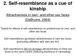 2 self resemblance as a cue of kinship12