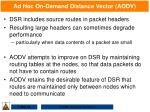 ad hoc on demand distance vector aodv