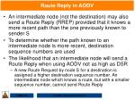 route reply in aodv79