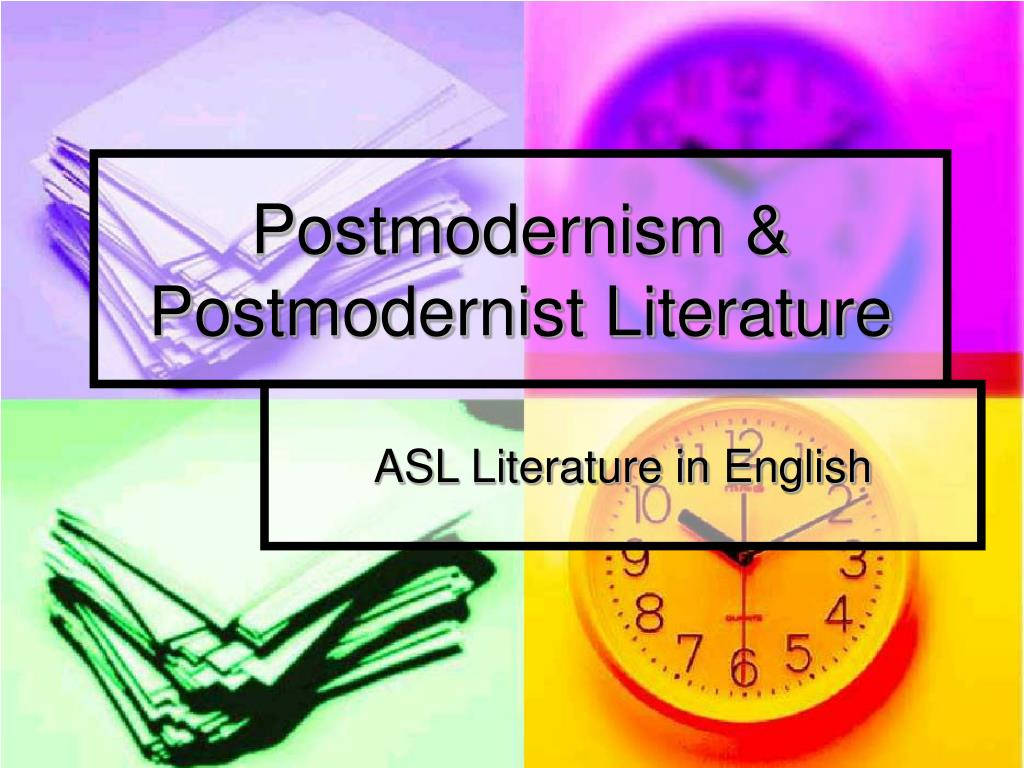 postmodernism in english literature