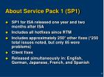 about service pack 1 sp1