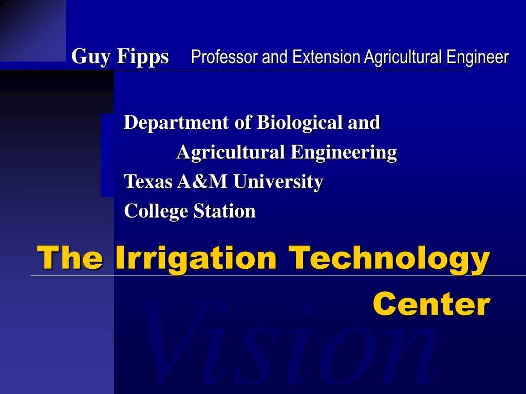 the irrigation technology center l.