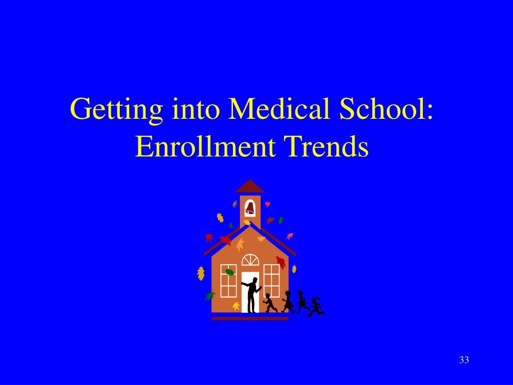 Getting into Medical School: