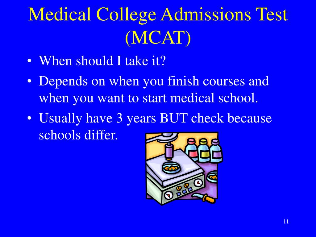 Medical College Admissions Test (MCAT)