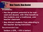 one teach one assist64