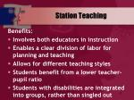 station teaching47