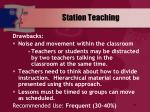 station teaching48