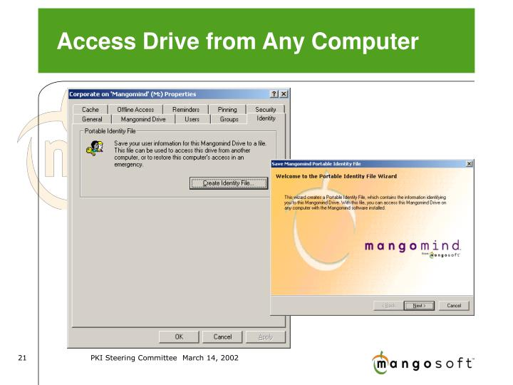 Access Drive from Any Computer