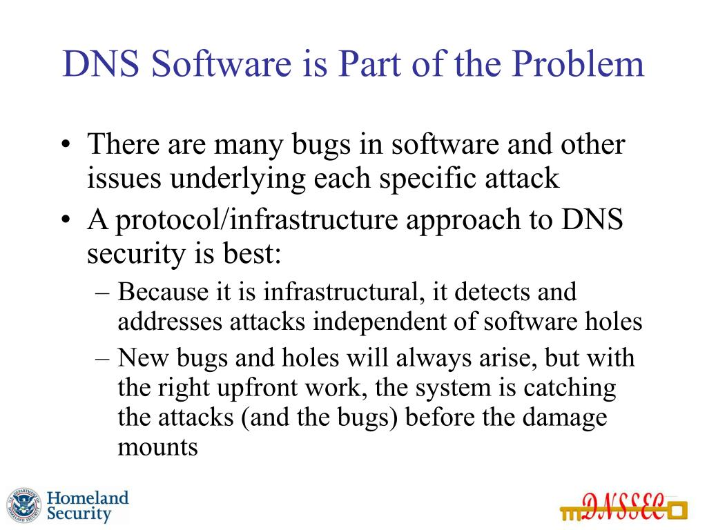 DNS Software is Part of the Problem