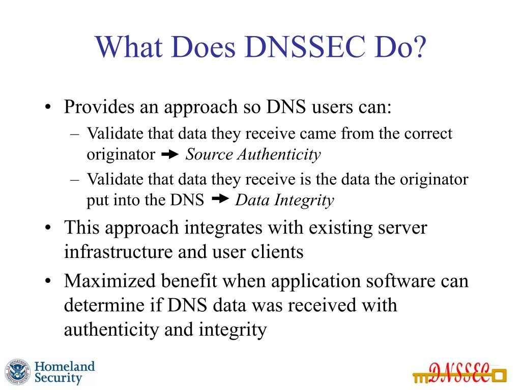 What Does DNSSEC Do?