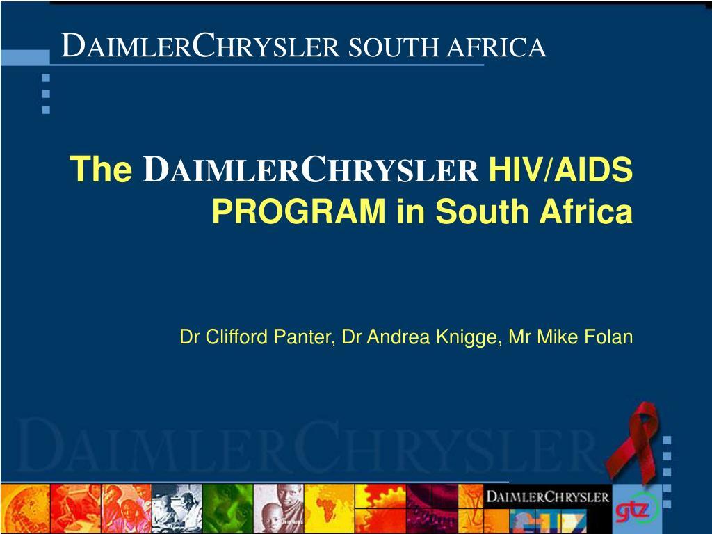 d aimler c hrysler south africa l.