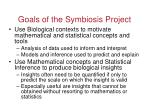 goals of the symbiosis project49