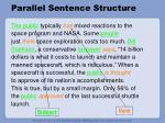 parallel sentence structure11