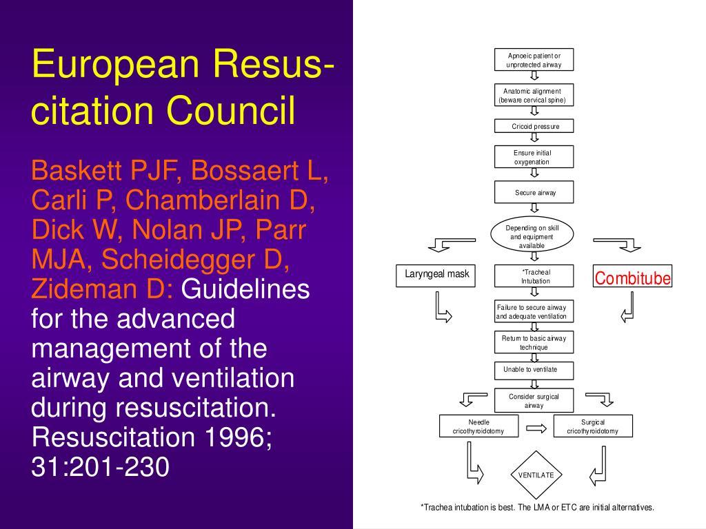 European Resus-