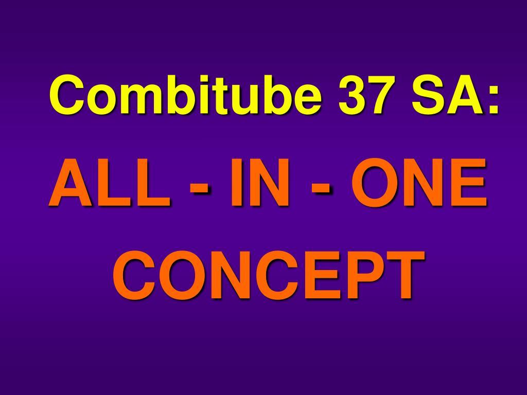 Combitube 37 SA: