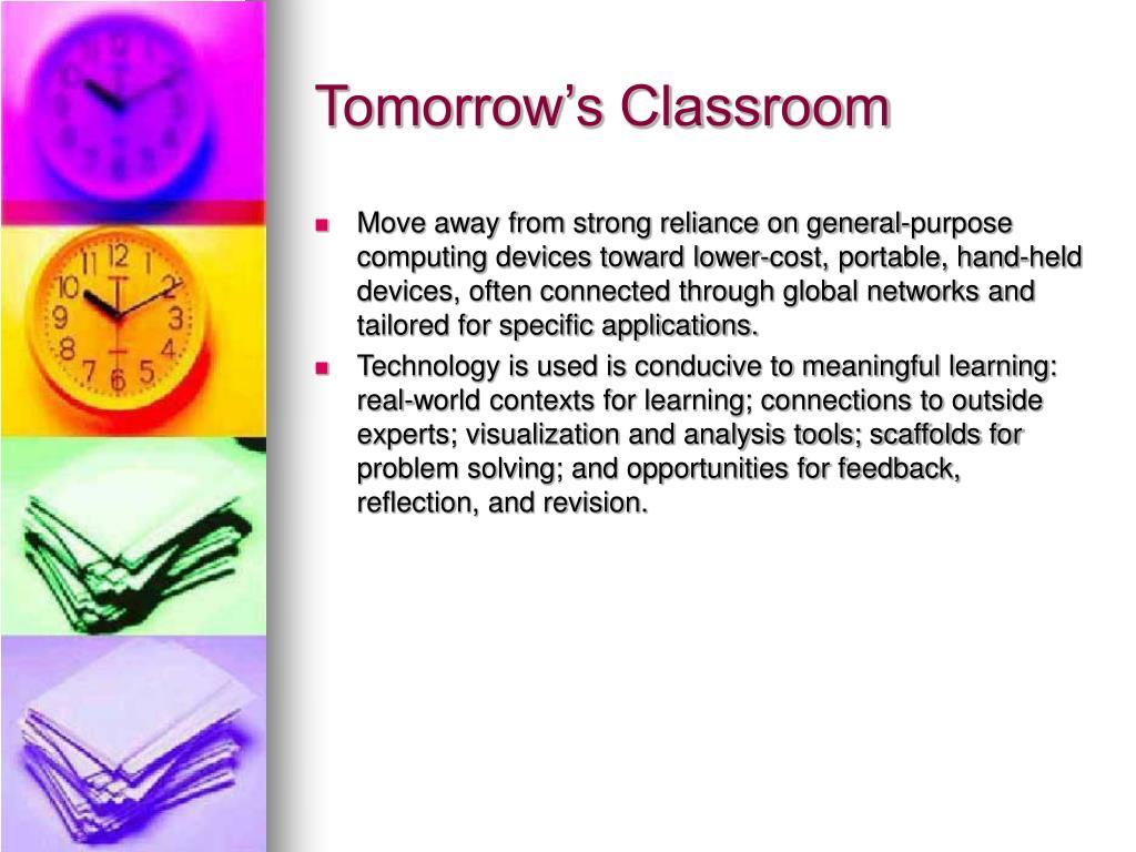 Tomorrow's Classroom
