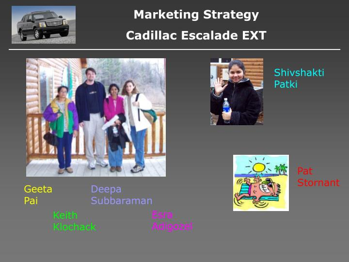 marketing strategy of cadillac The digital marketing dealer-branded shopping experiences through cutting edge technologies and the next generation of marketing digital strategy.