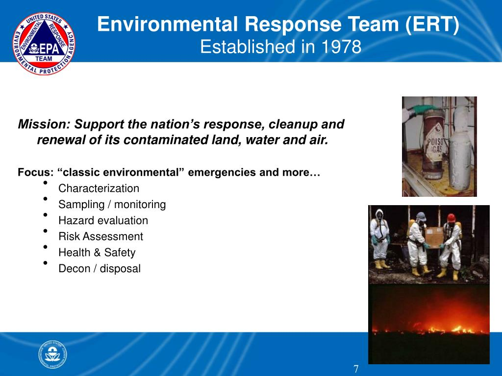 Environmental Response Team (ERT)