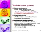distributed event systems